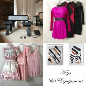 Equipment and Wardrobe Collage